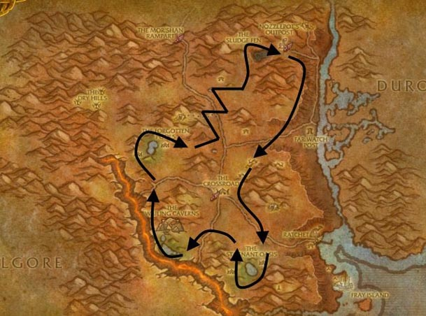 northern-barrens-herbalism-route
