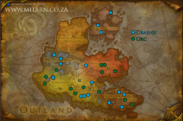 outland-archaeology-map