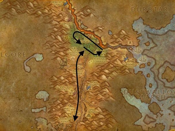 southern-barrens-herbalism-route