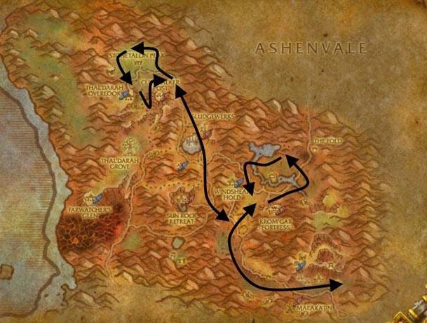 stonetalon-herbalism-route