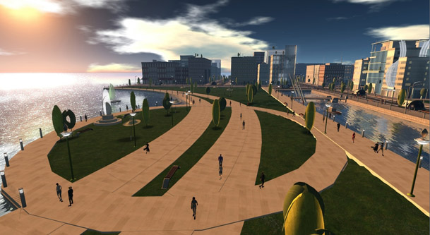 Intel-DSG-Simulated-city