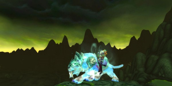 Spectral Tiger Shadowmoon Valey1