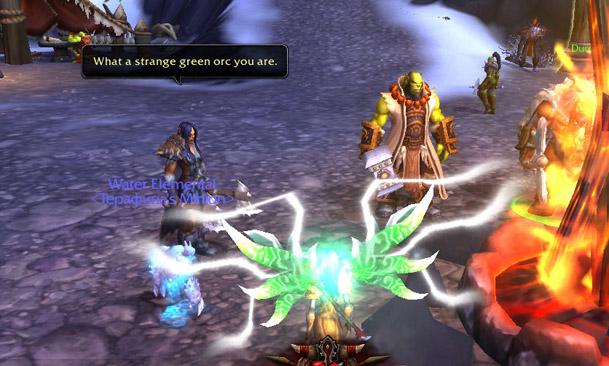 Draka Says Thrall is strange