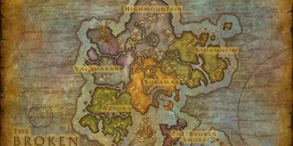 Legion Map