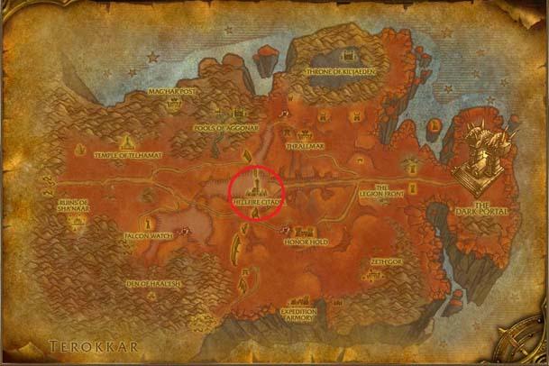 Hellfire Peninsula Map s