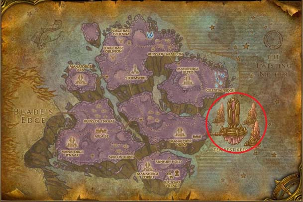 Netherstorm Map s