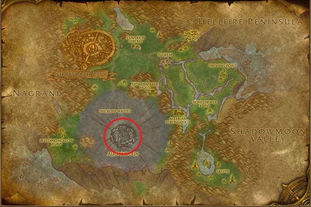 Terokarr Forest Map s