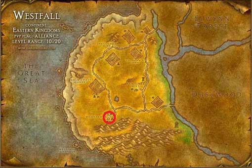 Westfall Vanilla WoW s