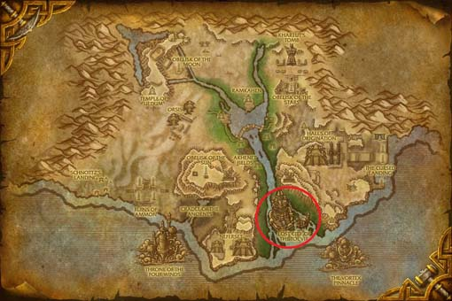 WoW Cataclysm Uldum Lost City of Tol'vir s