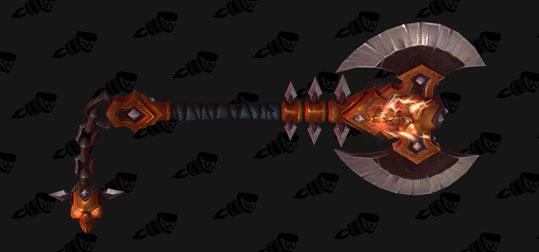 Arms - Hidden - Arcanite Bladebreaker - 100 dungeons with Hidden skin
