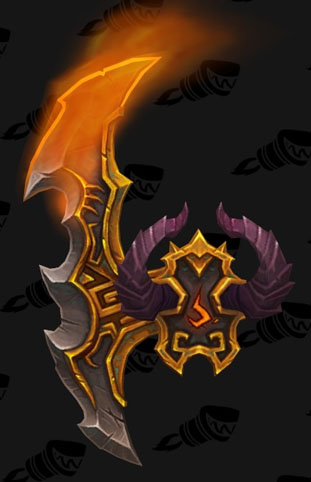Vengeance - Upgraded - Illidari Crest - Complete your Class OH Campaign