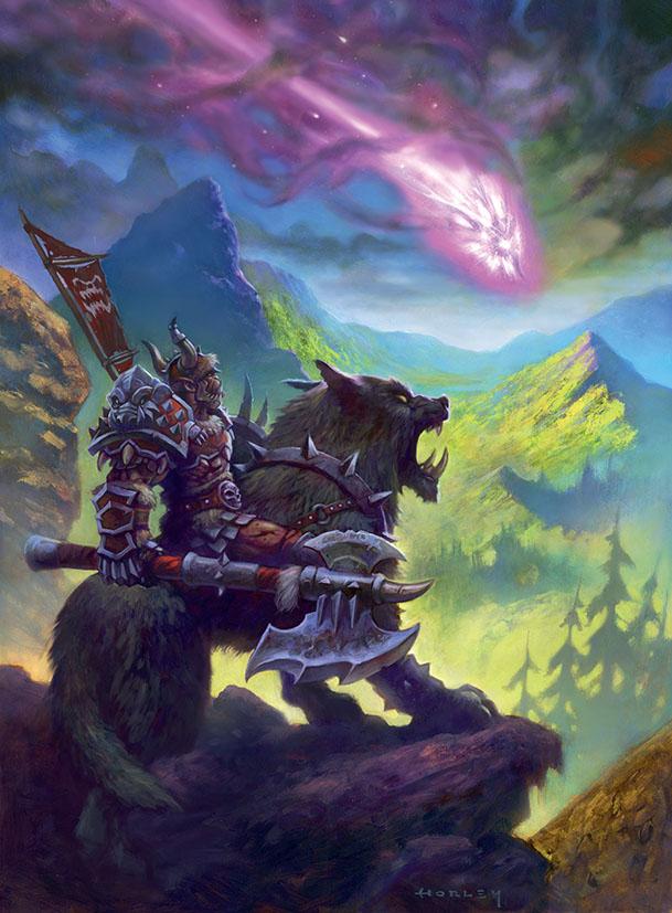 Genedar Lands on Draenor