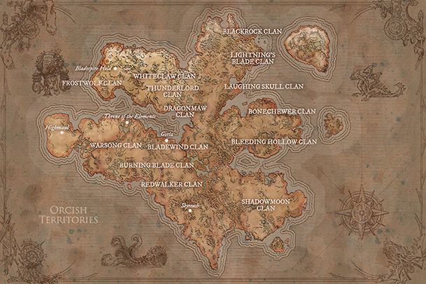Orcish Territories Ancient Draenor small