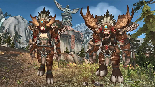 Highmountain Tauren Heritage Armor small