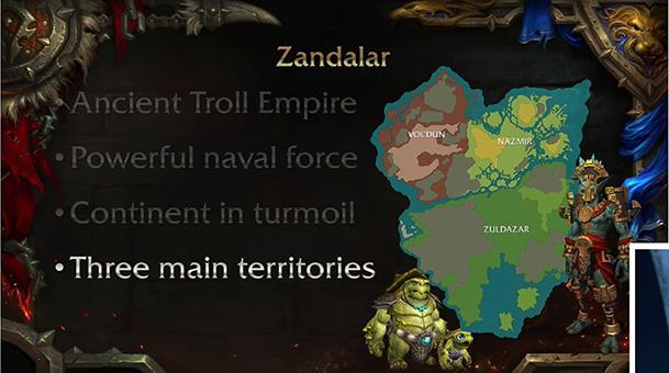 Map of Zandalar small