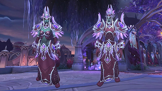 Nightborne Elves Heritage Armor small