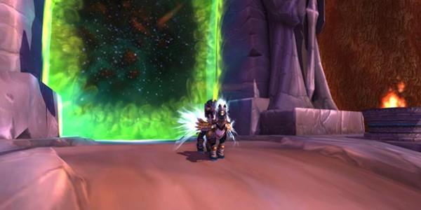Paladin near Dark Portal