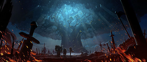 WoW_Battle_for_Azeroth_Approach_to_Teldrassil small
