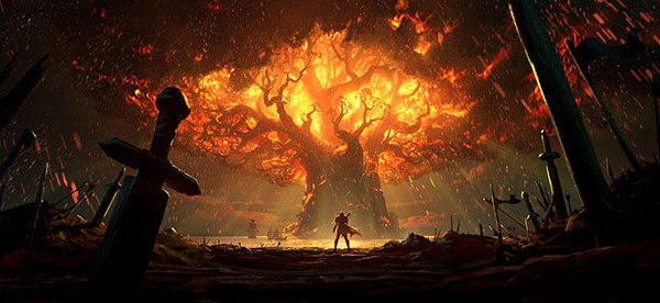 WoW_Battle_for_Azeroth_Teldrassil_Burns small