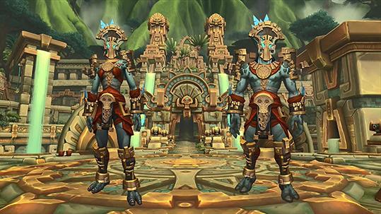 Zandalari Trolls Heritage Armor small