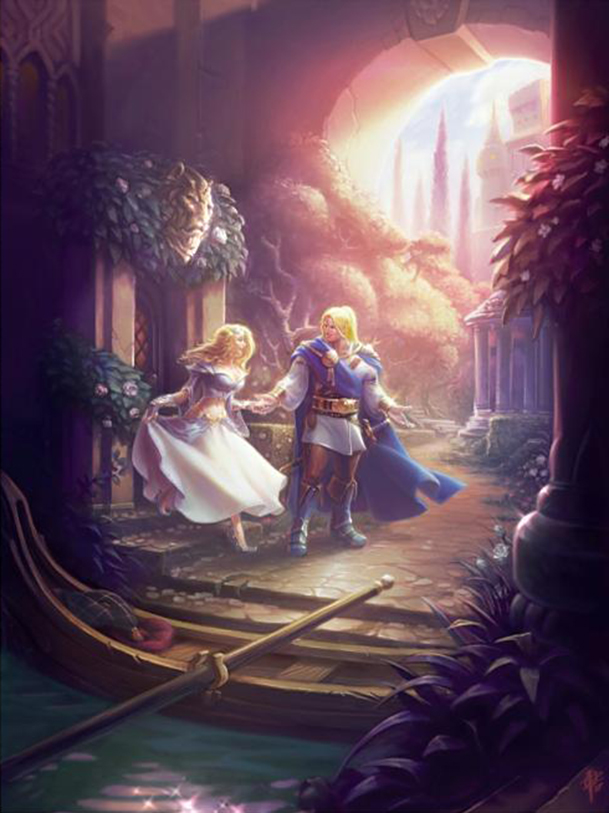 Arthas and Jaina