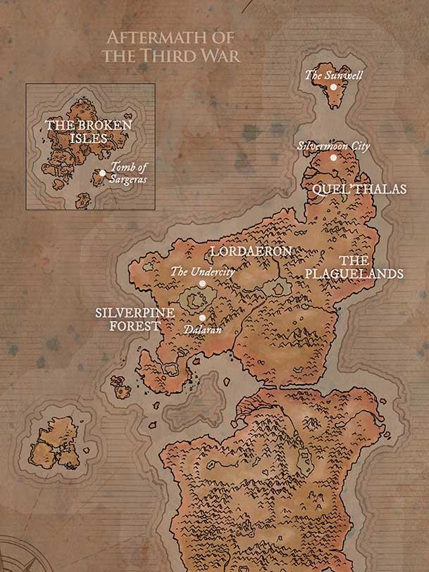 Map of EK after 3d War