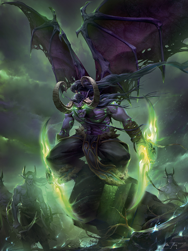 Illidan and DHs