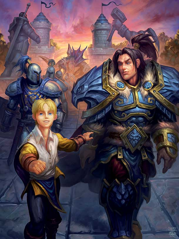 Varian and Anduin