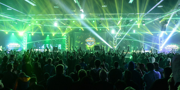 Blizzcon Crowd