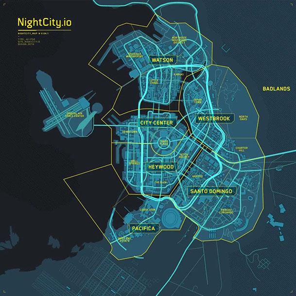 C2077 Night City Small